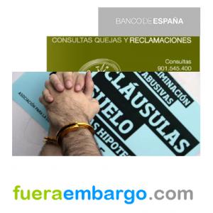 reclamaciones ante el Banco de España