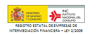 Registro estatal de empresas de intermediación financiera, Ley 2/2009